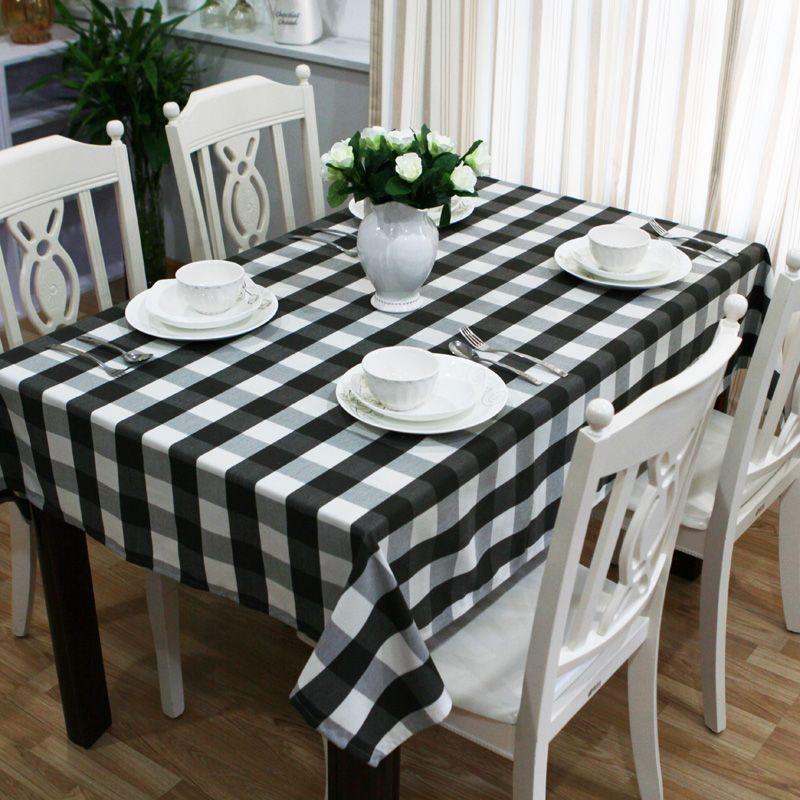 Cheap Cloth Speaker, Buy Quality Cloth Paste Directly From China Cloth Roll  Suppliers: Fashion Brief Black And White Plaid Table Cloth Fabric Tablecloth  ...