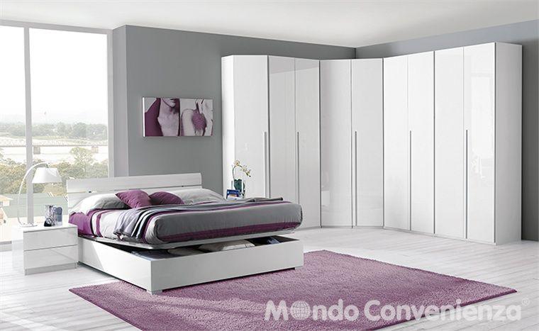 Camera da letto Leader - Armadio 6 ante - Moderno - Mondo ...