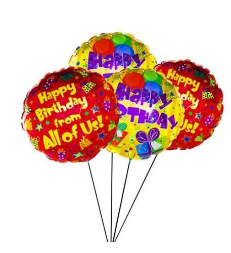 Make Someone S Birthday Even More Special By Sending This Stylish 4 Helium Filled Balloon Ready