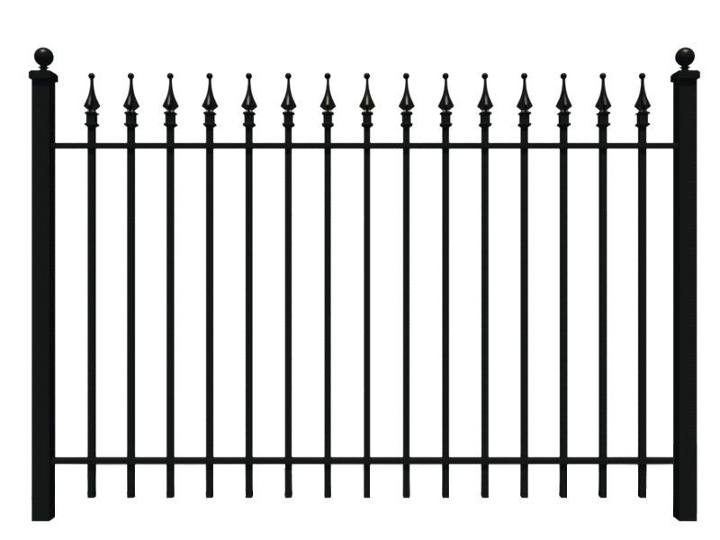 Wrought Iron Fence Iron Fence Shop This Is The Fence In That