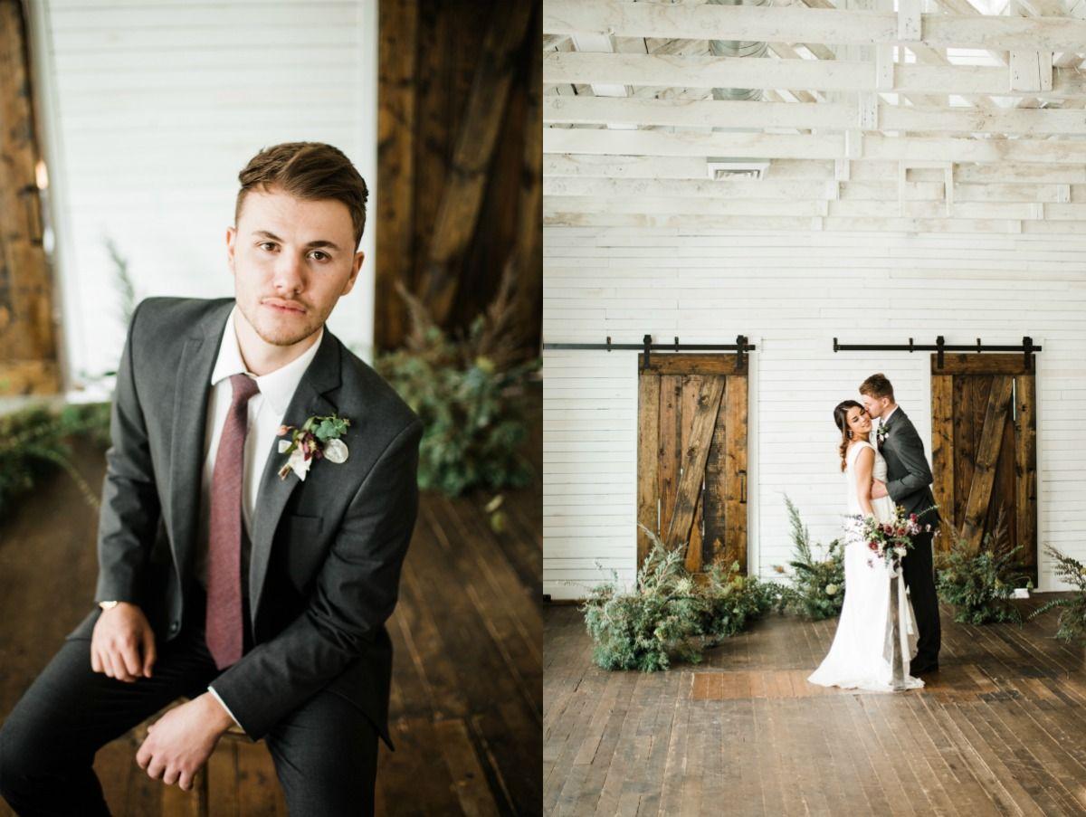 Indoor Wedding Inspiration {The Lehi Studio} Wedding
