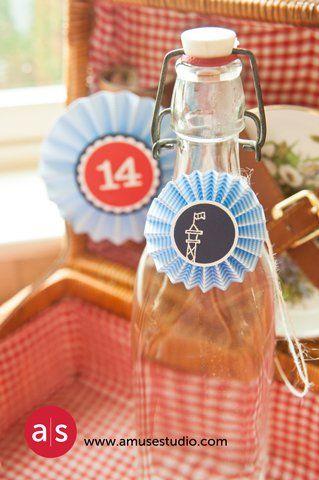 Craft Ideas French Lemonade Bottles