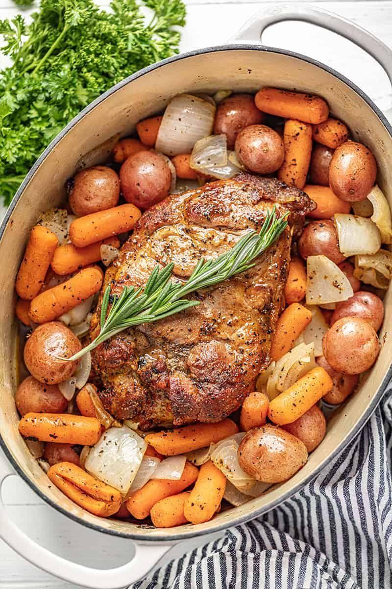Sunday Pork Roast Recipe Pork roast, Food recipes, Food