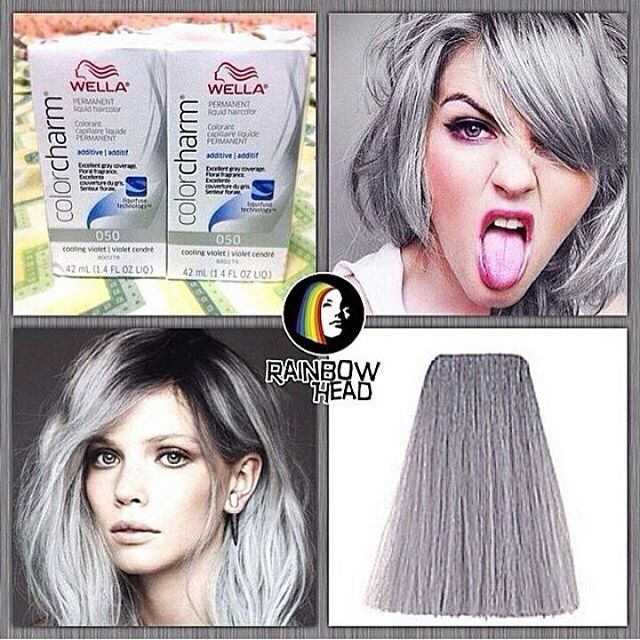 Wella 050 Cooling Violet Available At Rainbowhead Ph Want Silver