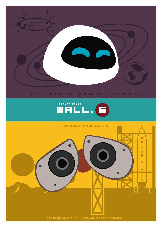 Wall-E - Minimalist Poster | Wall-E | Pinterest | Minimalist poster ...