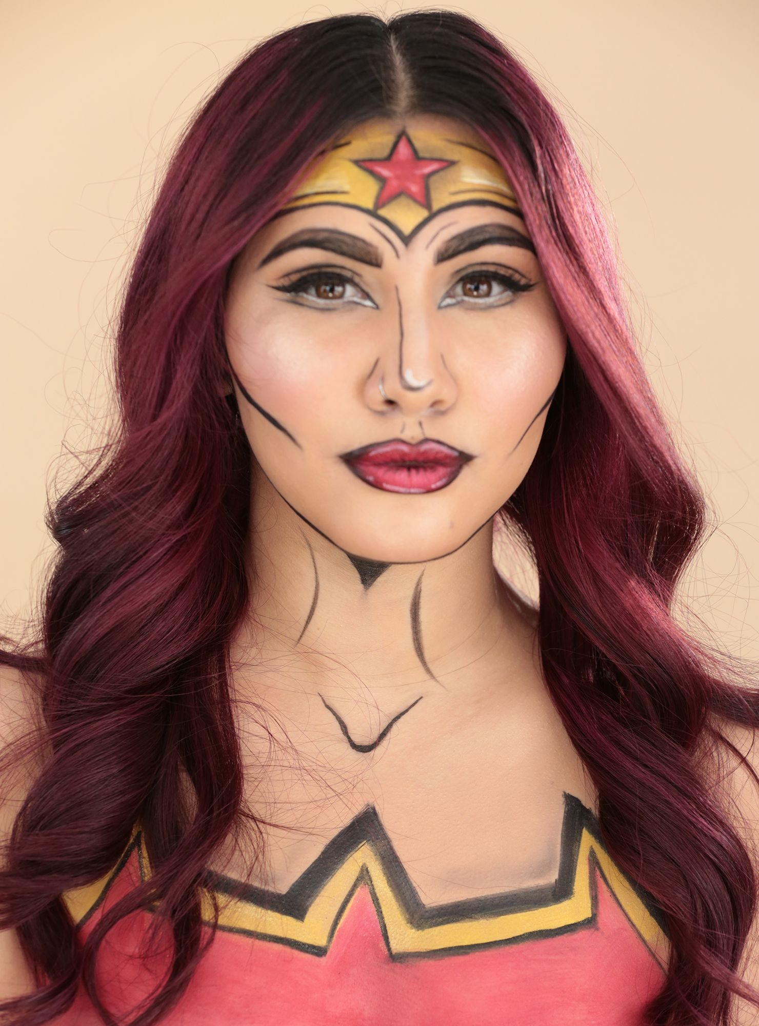 Wonder Woman makeup tutorial makeup tutorial