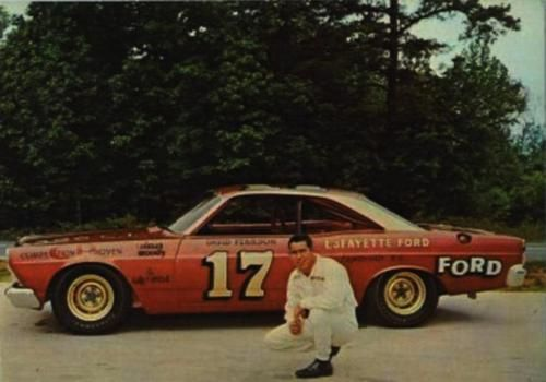 David Pearson And His Ford Fairlane By Danny Brower On Facebook Nascar Race Cars Nascar Cars Stock Car Racing