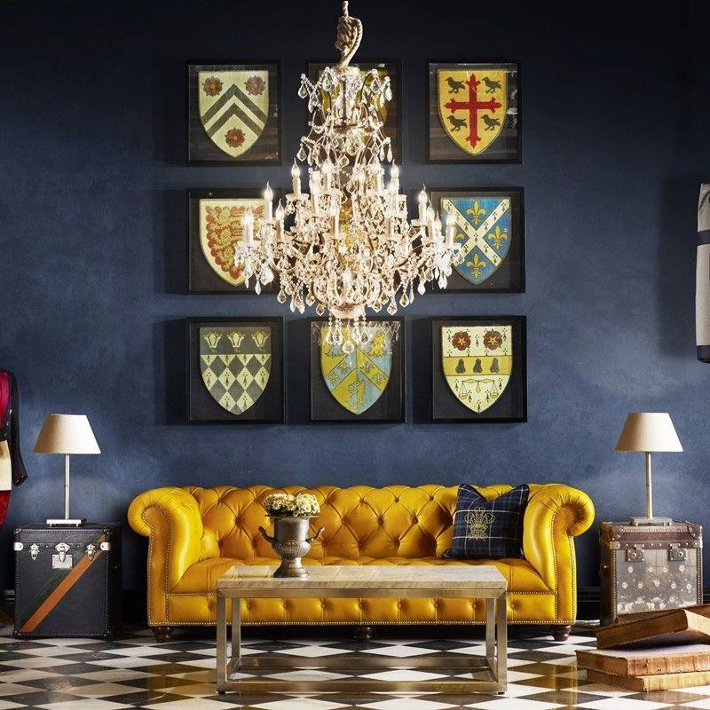 Oxford Senior Common Room Sofa