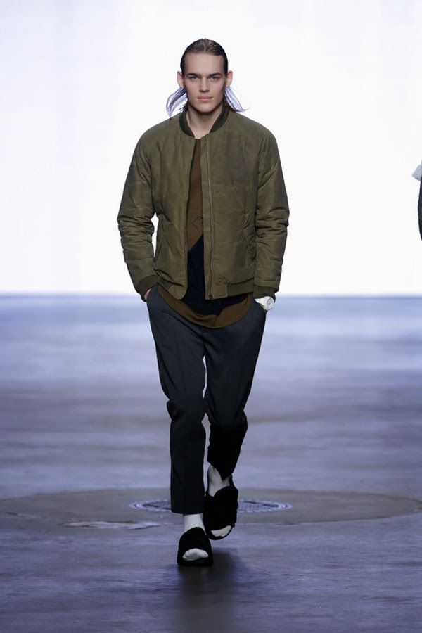 The Style Examiner: Francisco van Benthum Autumn/Winter 2014 Menswear