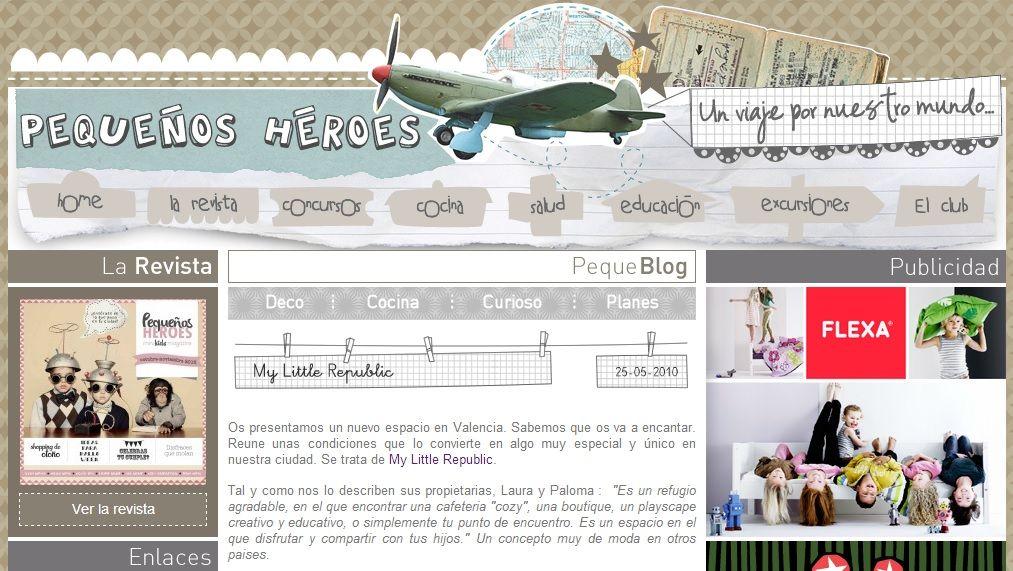 Revista Pequeños Héroes Mayo 2010