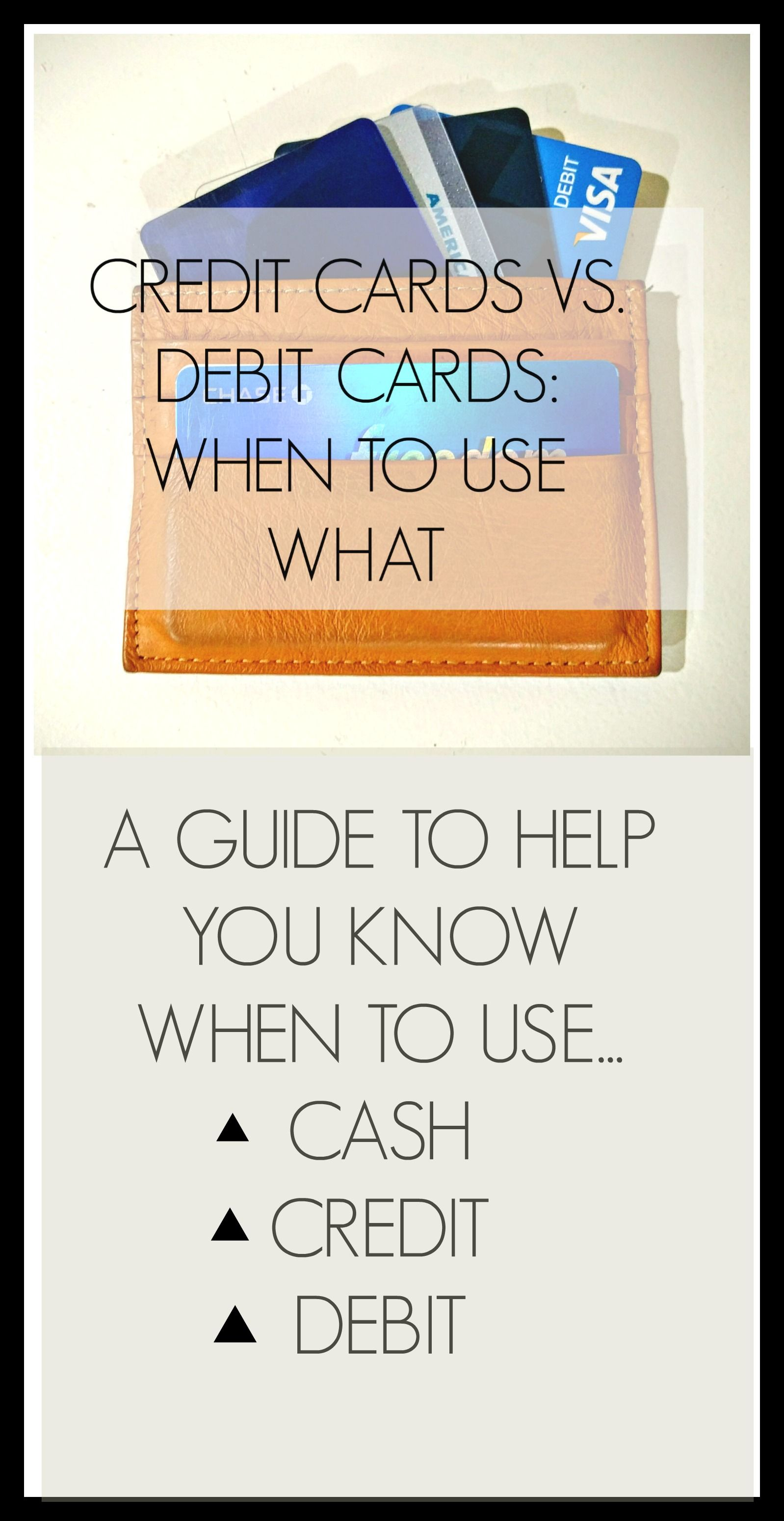 Curious when the best time to use cash your debit and