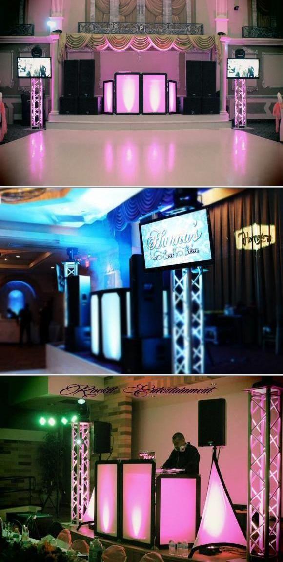 Dj Services Wedding Dj Setup Dj Setup Dj Booth