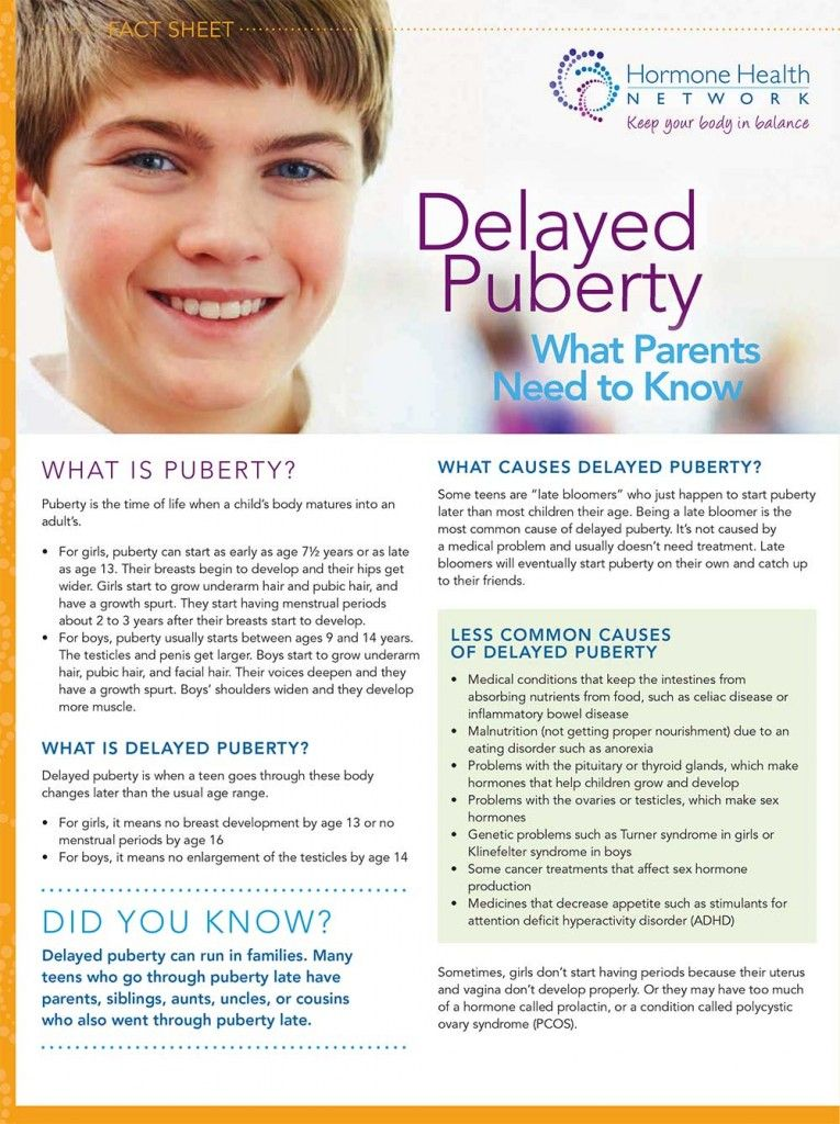 This article is about what delayed puberty is and the common causes