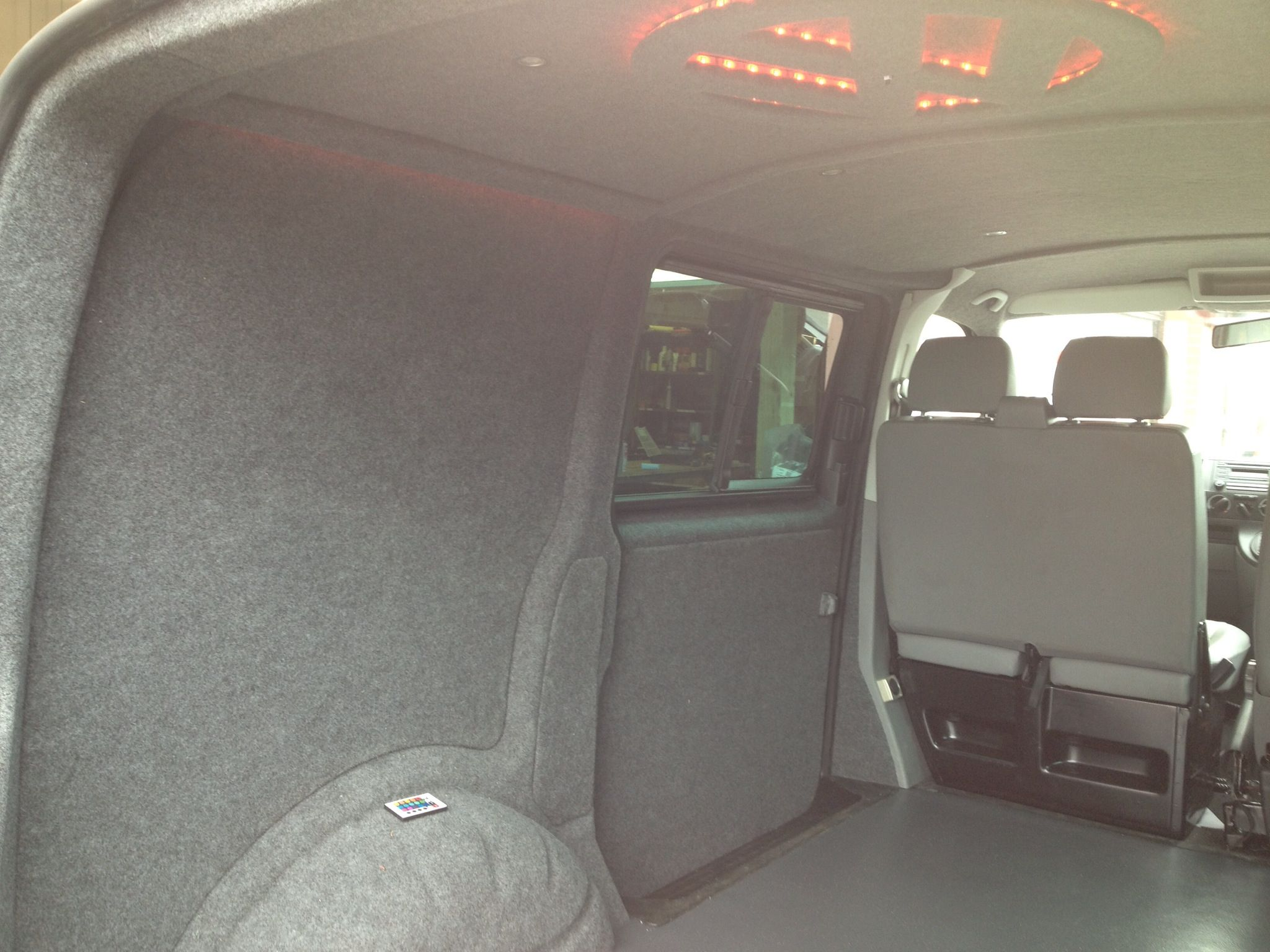 Aufbewahrung Schuhe Wohnwagen Vw Transporter T5 Fully Carpeted With Mood Lights Done