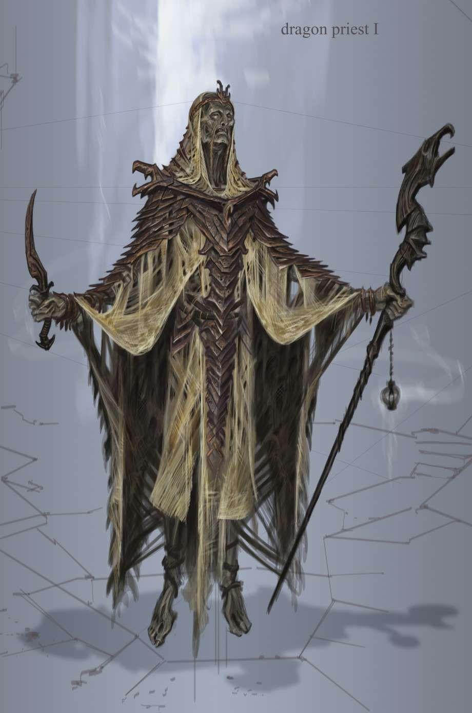 skyrim Elder concept art scrolls