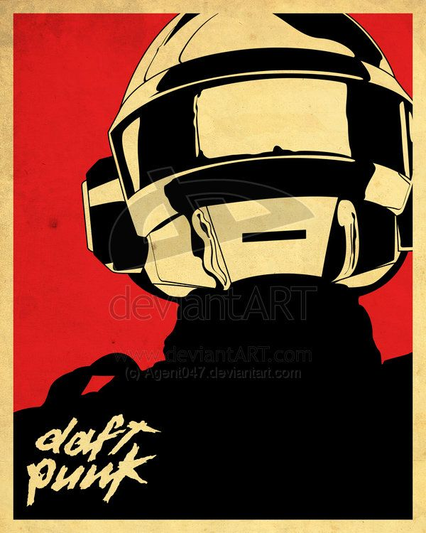 DaftPunk by Agent047 via #DeviantArt | For Art\'s Sake | Pinterest ...