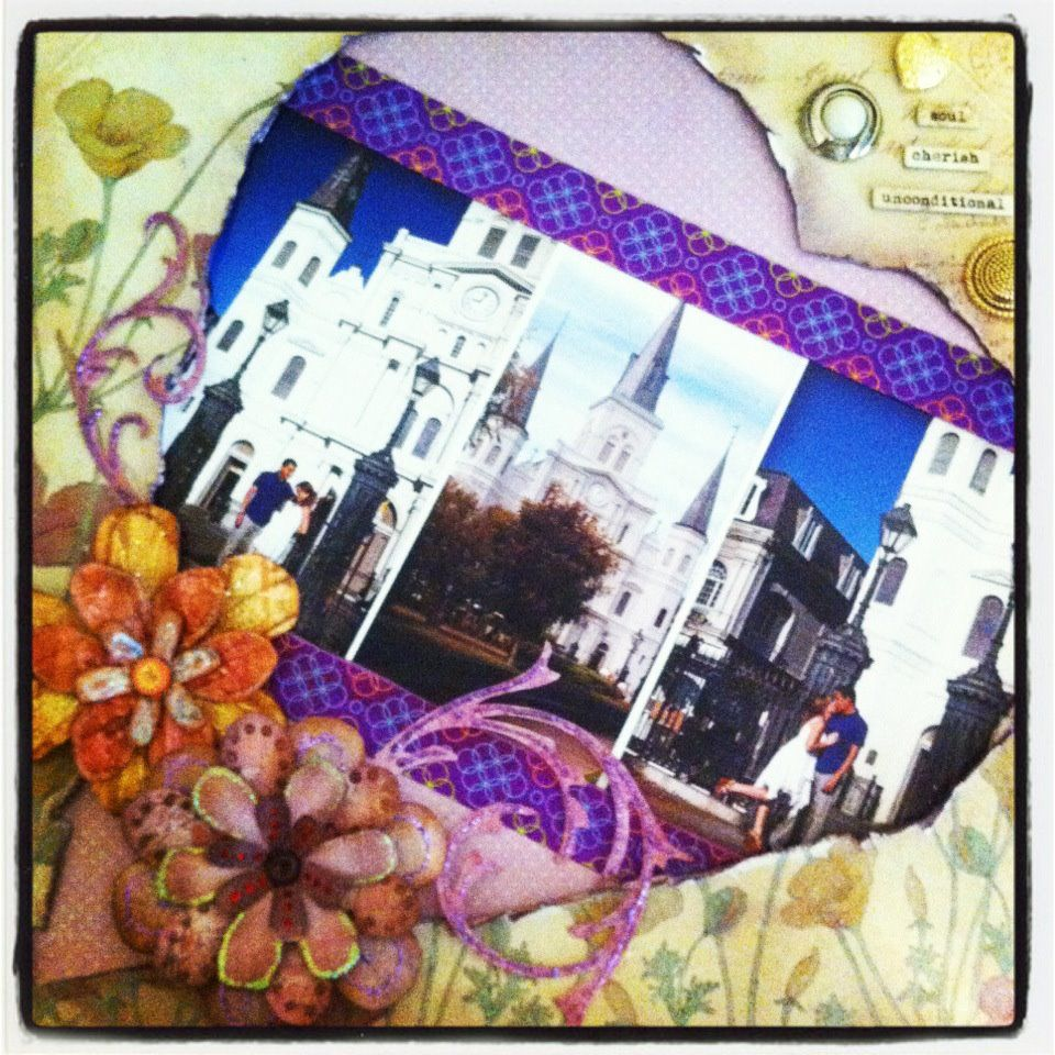 Scrapbook ideas new orleans - Find This Pin And More On Scrapbook Layouts New Orleans