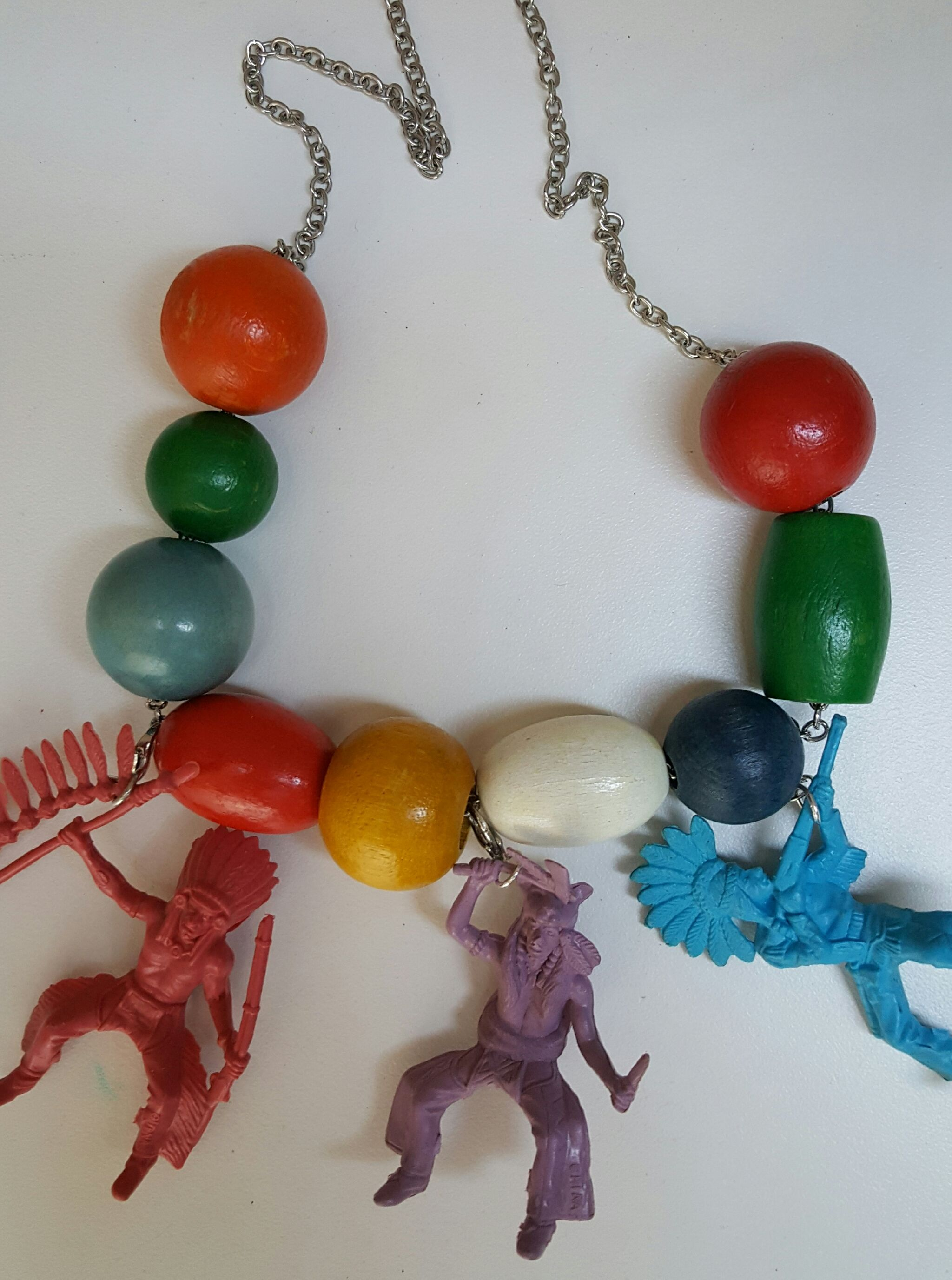 Indians handmadevintage toys 60s and beads
