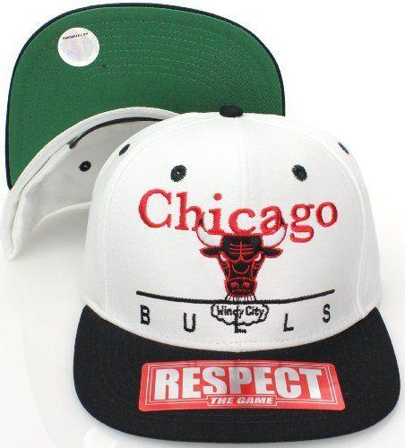 50e57144381 Chicago Bulls Retro Hat Cap Snapback Jordan SL WHITE BLACK by adidas.   10.91. Brand