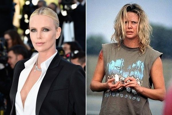 Charlize Theron In Monster Before And Afterpay Attention Girls
