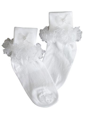 Ruffled Girl's Socks $7.95 Adorable little girls 100% nylon ...