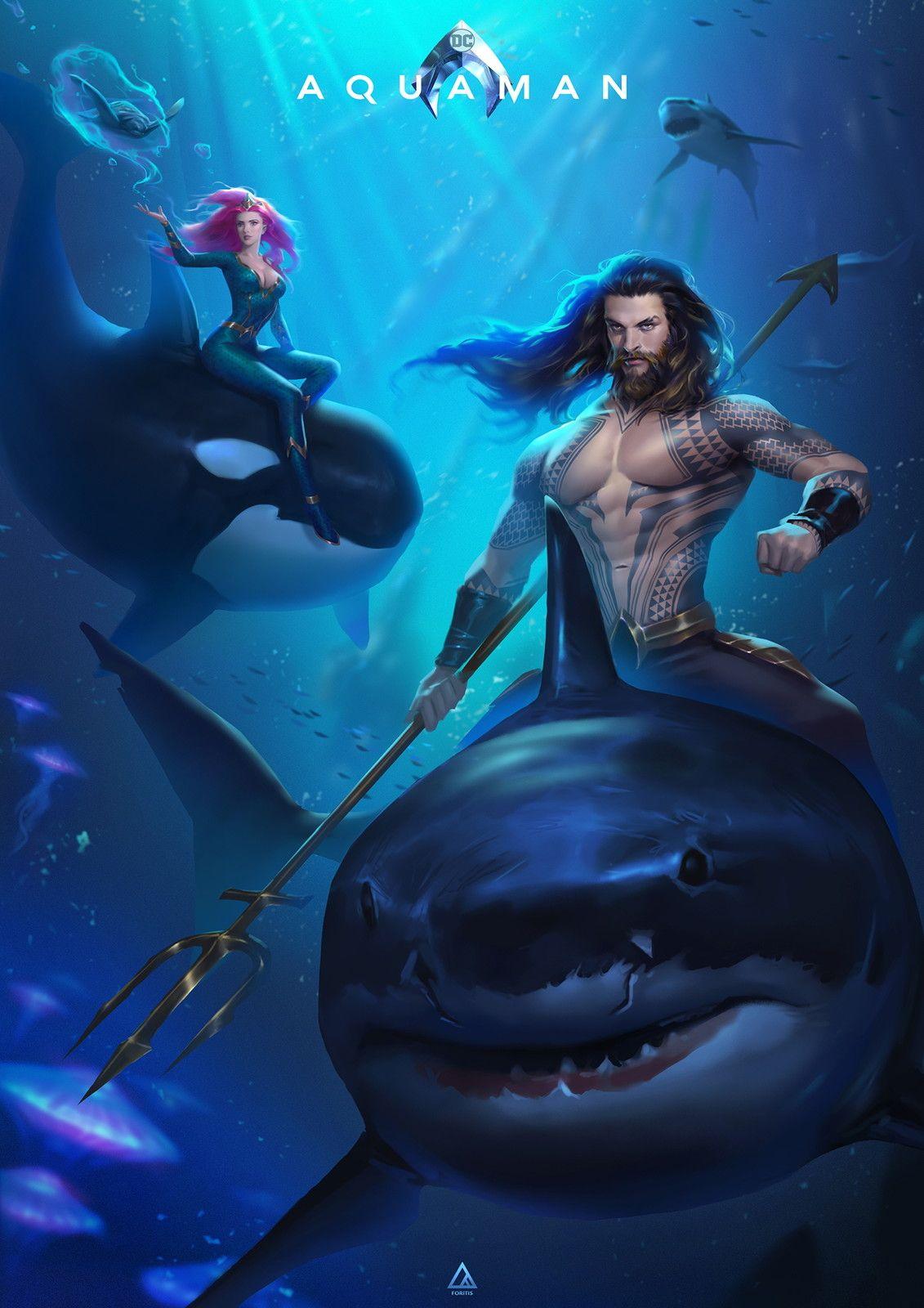 Aquaman Fanart Foritis Wong On Artstation At Https Www Artstation Com Artwork W2b0kx Aquaman Comic Aquaman Dc Comics Heroes