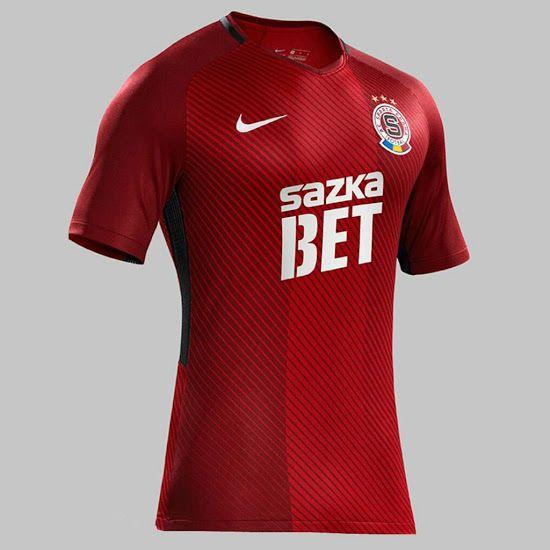a536ac4a8 Football soccer · Sparta Praha 17-18 Home Kit Released - Footy Headlines