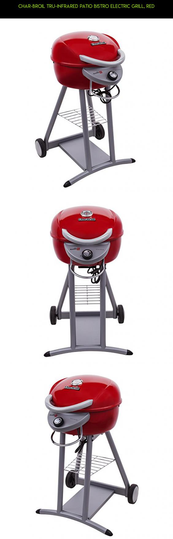 Char Broil TRU Infrared Patio Bistro Electric Grill, Red #electric #grills