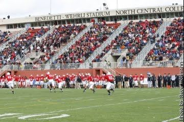 College Football Stadiums North Central College Football In 2019 College Fun College College Football