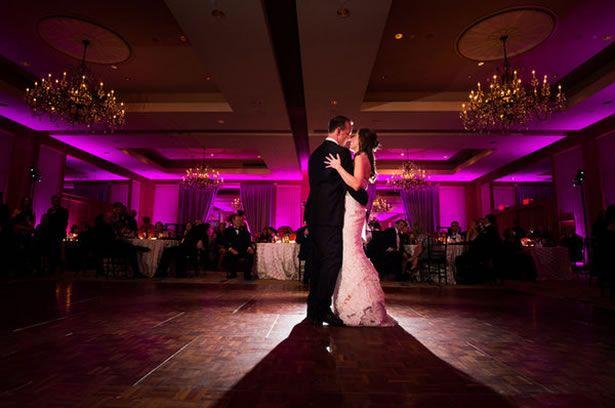 colored lighting reception lighting wedding pinterest real