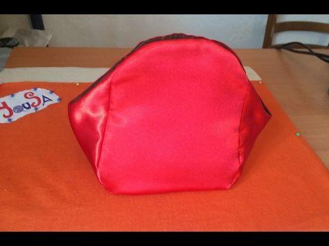 CROCHET IRLANDES- Bolsito Mama -Tutorial 1 marcar patron y coser ...