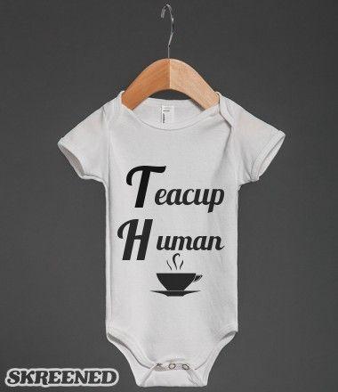 Teacup Human