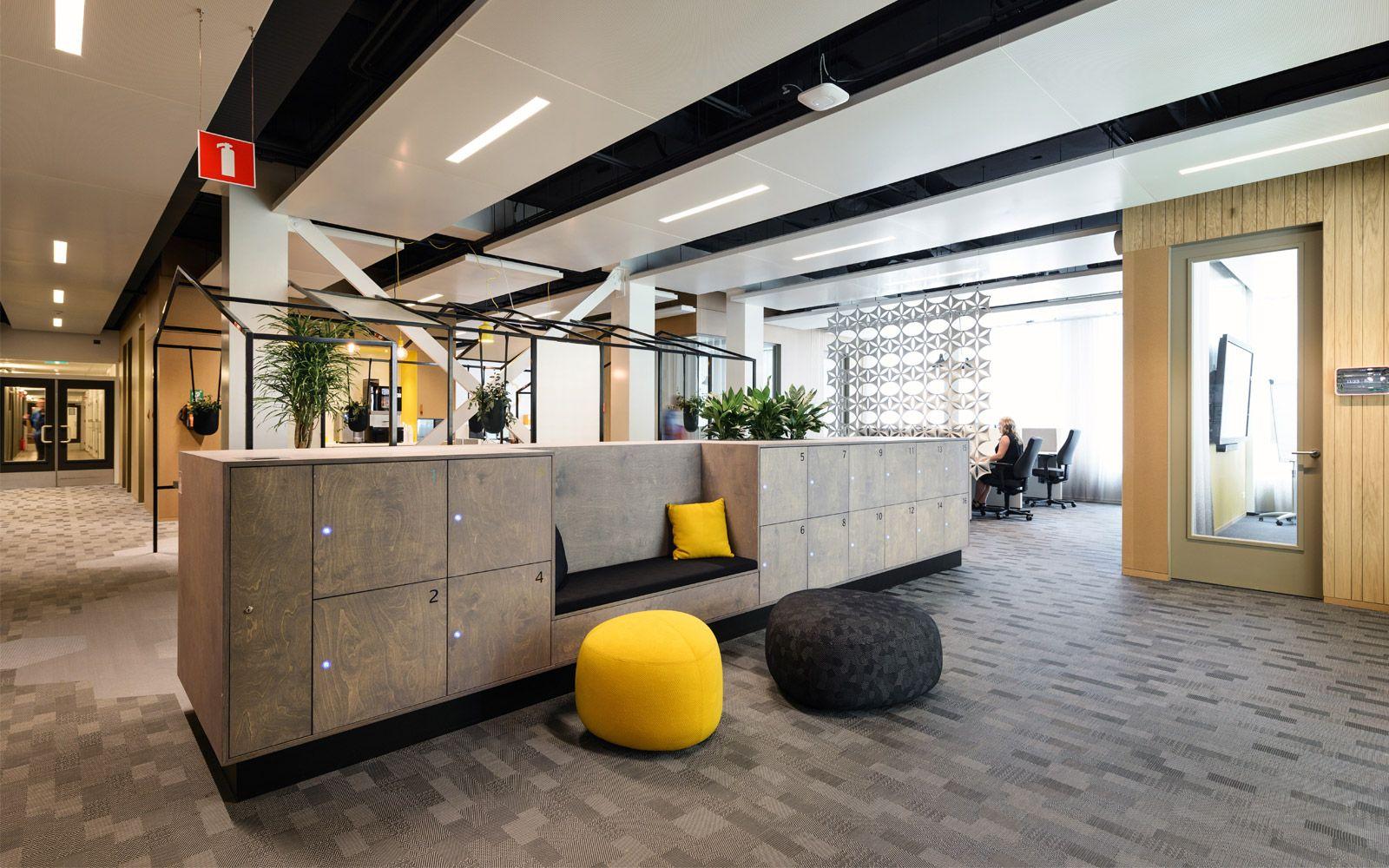 Offices At Sabic Europe Manufacturing By Broekbakema Gebouwen Projecten Hergebruiken