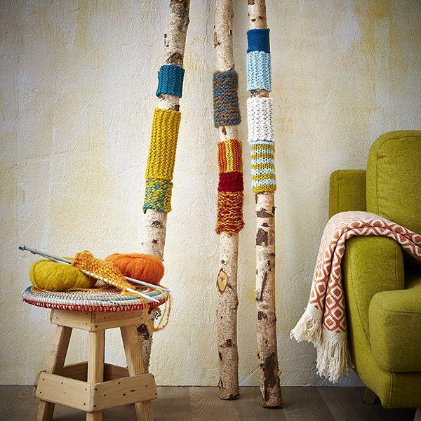 Tricot Diy Diy Idee Decoration Tricot Zodio Bambou Decor