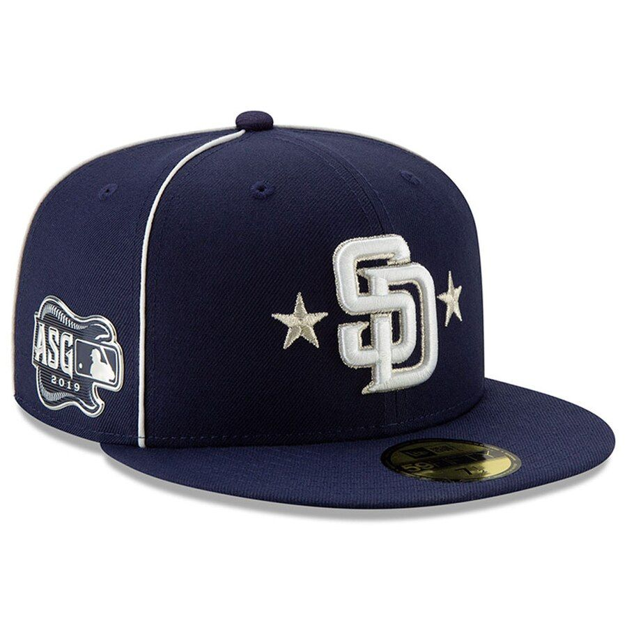 superior quality fresh styles great prices Men's San Diego Padres New Era Navy 2019 MLB All-Star Game On ...