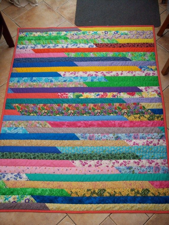 ❤ =^..^= ❤ Anael's JRR quilt | Quilt: Jelly Roll Race ... : quilting jelly roll - Adamdwight.com