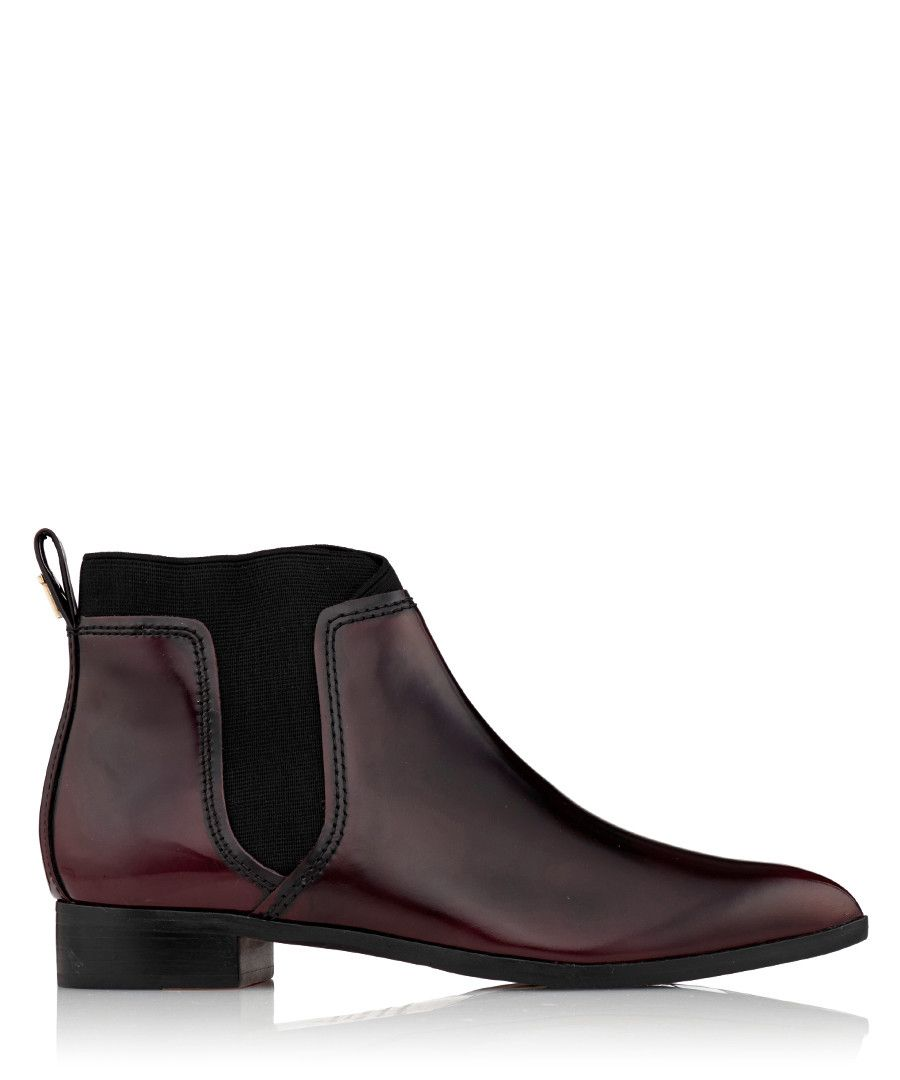 585610c4703cb1 Women s Maki oxblood leather boots Sale - Ted Baker