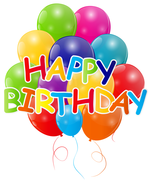 Pin by lu a on happy birthday pinterest art happy birthday with bunch of balloons png clip art image bookmarktalkfo Gallery