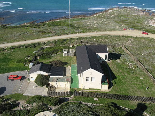 View from Cape Agulhas lighthouse.