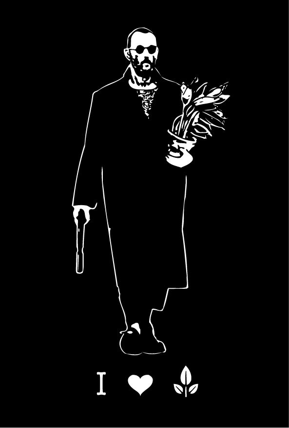 Leon Loves Plant By 5bodyblade Movie Tattoo Movie Art Movie Poster Art