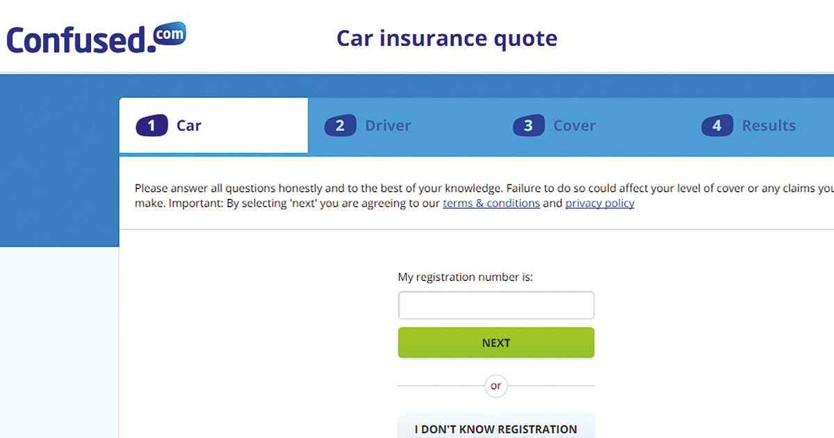 Best Car Insurance Comparison Website Uk Car Insurance