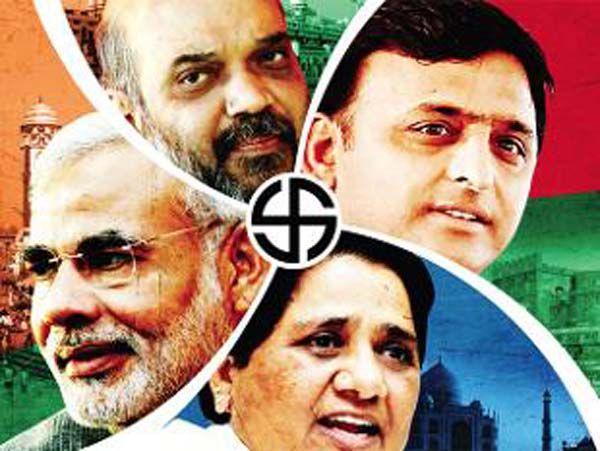 यूपी में BJP का दिखेगा जल्वा, SP व BSP की निकलेगी हवा : सर्वे