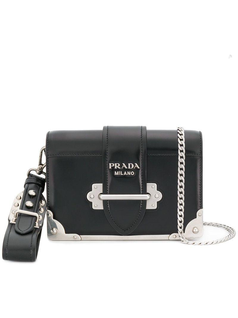 b5c19ef6d98d PRADA .  prada  bags  shoulder bags  leather