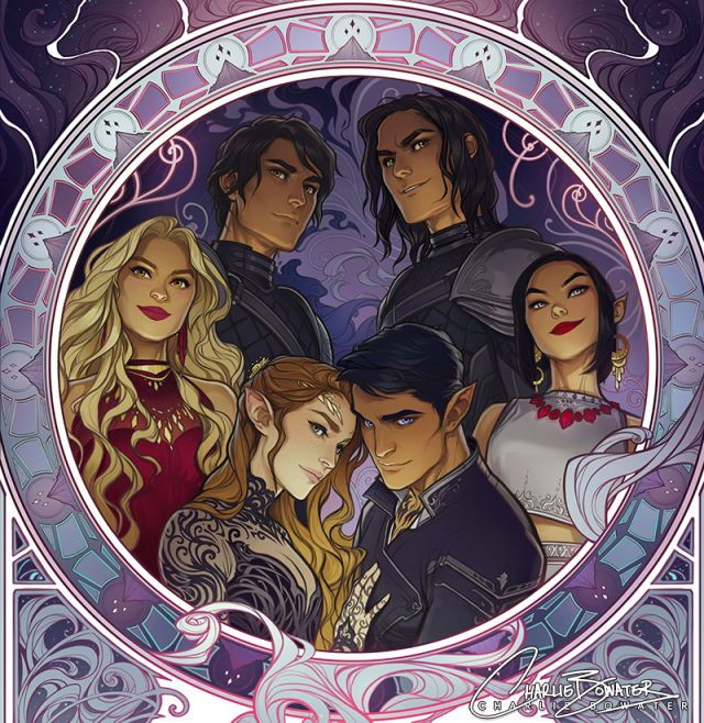 A Cropped Version Of The Inner Circle Art By Charlie Bowater A