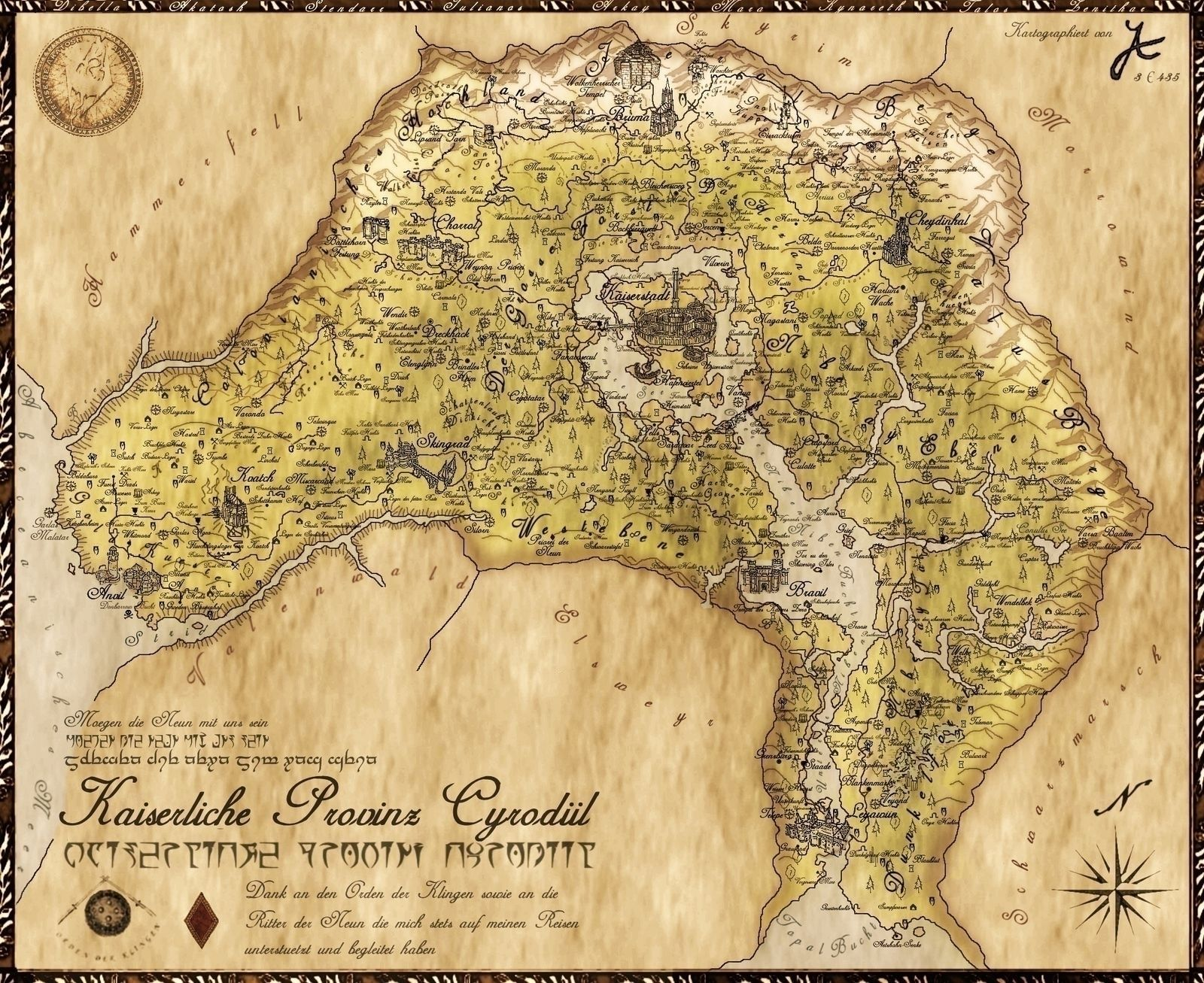 Cyrodiil map maps pinterest skyrim elder scrolls online and cyrodiil map gumiabroncs Choice Image