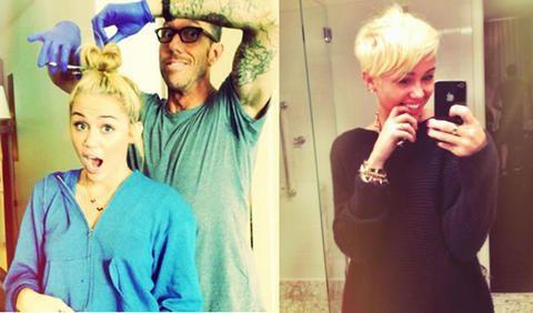 Chequeen el nuevo corte de pelo de Miley-Cyrus :O!!!