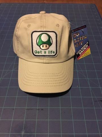 cb2df120fc8 Super Mario 1up Mushroom Dad hat
