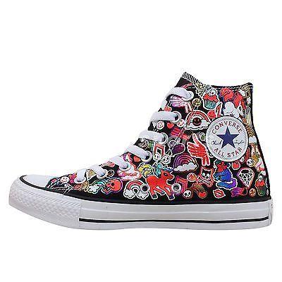 10f2ea830a29 Converse Chuck Taylor All Star Hi Cartoon Print 2014 Shoes Plimsolls  143067C