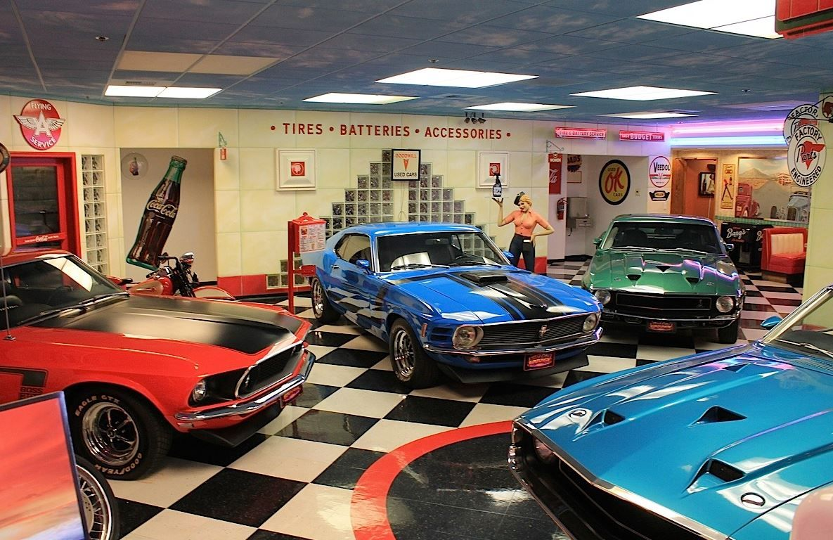 Muscle ford garage american muscle car connection from for Garage ford romans