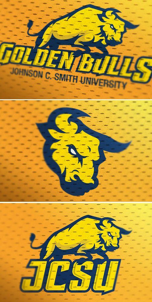 JCSU, sports logo redesign concept. by Marco Echevarria, via Behance
